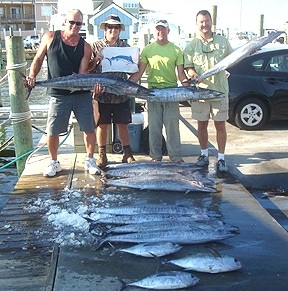 Hatteras wahoo virginia beach charter boats fishing for Lynnhaven inlet fishing report