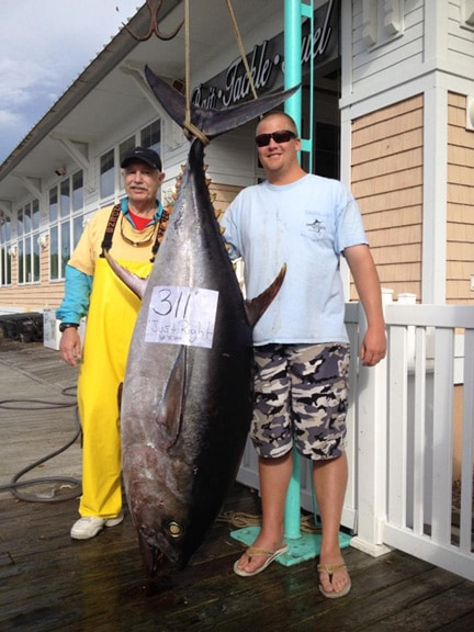 Va state record bigeye tuna bested for Lynnhaven inlet fishing report