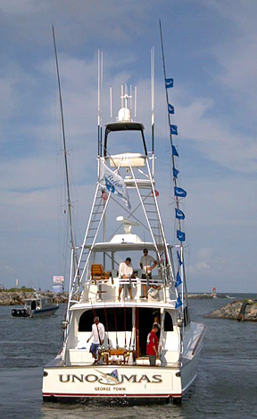 """The winner of the 11th Annual VBBT was the Florida based """"Uno Mas"""" captained by Tom Lynskey."""