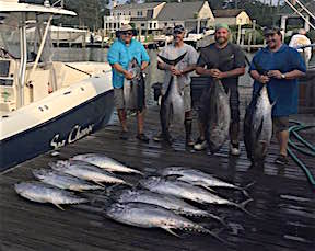 Irwin virginia beach charter boats and fishing reports for Nc saltwater fishing report